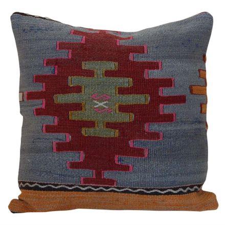antique-turkish-kilim-rug-pillow 1