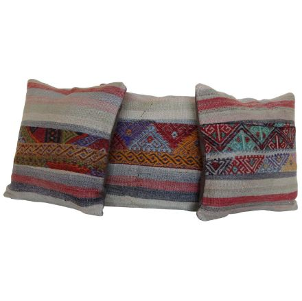Boho-Chic-Rug-Pillow-Covers-Set-of-3 1