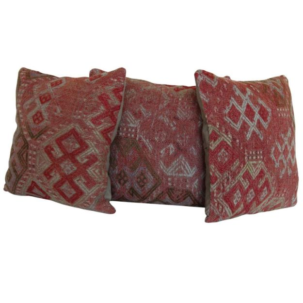 kilim-rug-pillows-set-of-3 1