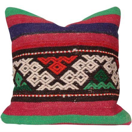 Multi-Color-Decorative-Kilim-Pillow 1