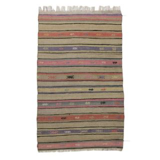 pink-striped-kilim-rug