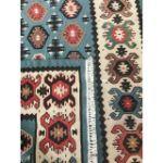 VE2252-Vintage Turkish Kilim Rug- 2'8'' x 5'1''