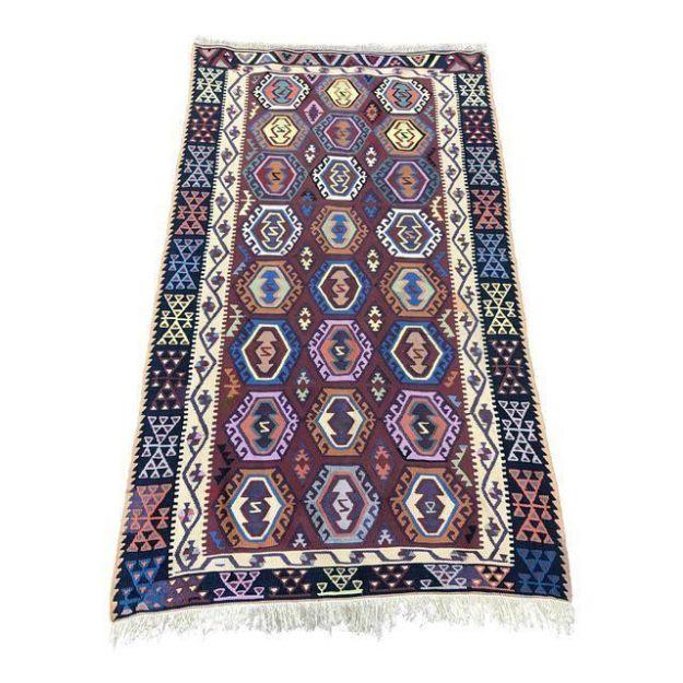 Handmade-Turkish-Flat-Weave-Kilim-Rug