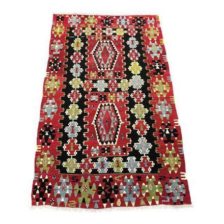 boho-vintage-turkish-kilim