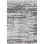 3D-Textured-Brown-Abstract-Striped-Rug