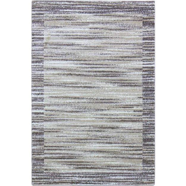Abstract-Brown-Rug-Beige-Stripes