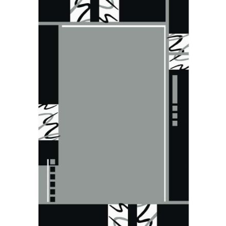 Geometric-Gray-Rug-Border