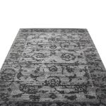 Picture of Vintage and Faded Look Gray Rug